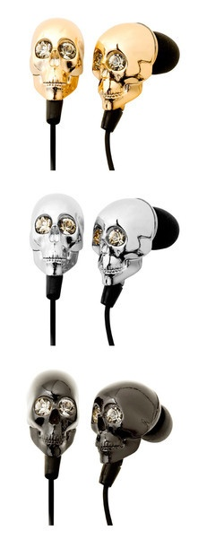 headphone skull: Sparkle for the ears ;)