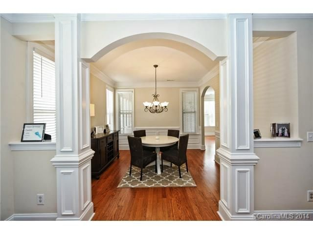 Gorgeous Entry Into This Formal Dining Room