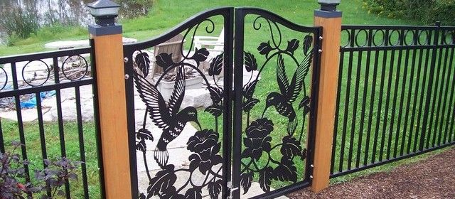 Safety and Design: Fences and Gates. Safety and Design tips for the fences and gates surrounding your home.  www.HomeSafetyScene.com  #homesafety