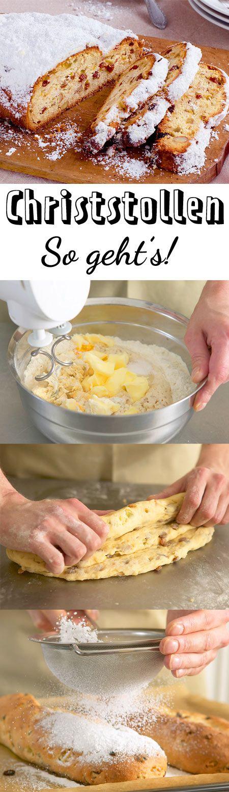 Christstollen schmeckt gut durchgezogen am besten. Deshalb kann man mit dem Backen nicht früh genug anfangen