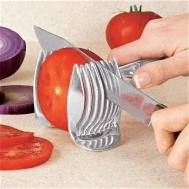 Tomato Slicer?! Now I don't have to worry about cutting my fingers off! There's other cool stuff on here too(13 Pics)