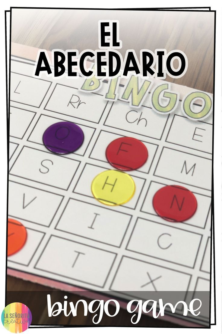Such A Fun Way To Practice The Spanish Alphabet And Goodbyes In Class My Students Love Playing Bing Alphabet Coloring Pages Teaching Colors Alphabet Preschool [ 1104 x 736 Pixel ]
