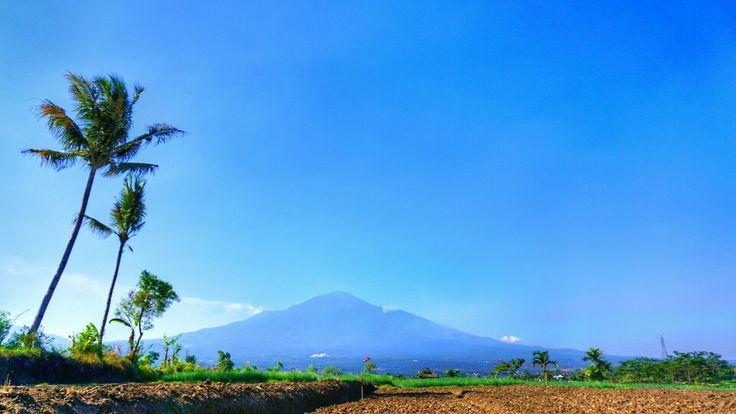 Landscape at Batu, Malang