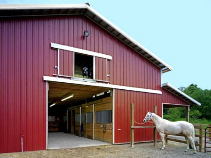 54 best images about barns on pinterest for Small metal barns