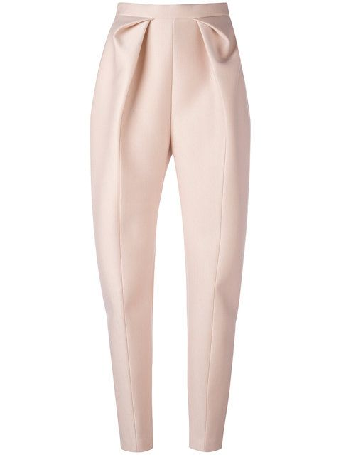 DELPOZO High-Waisted Origami Trousers. #delpozo #cloth #trousers