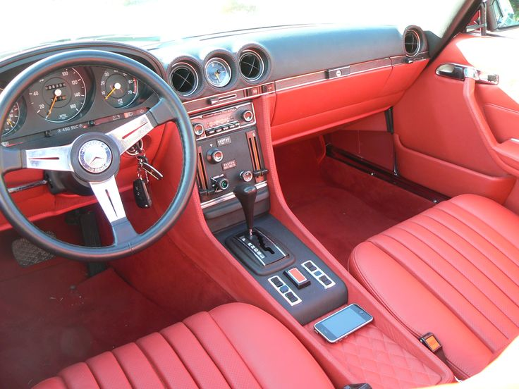 Mercedes W107 450SLC (1972) Finished