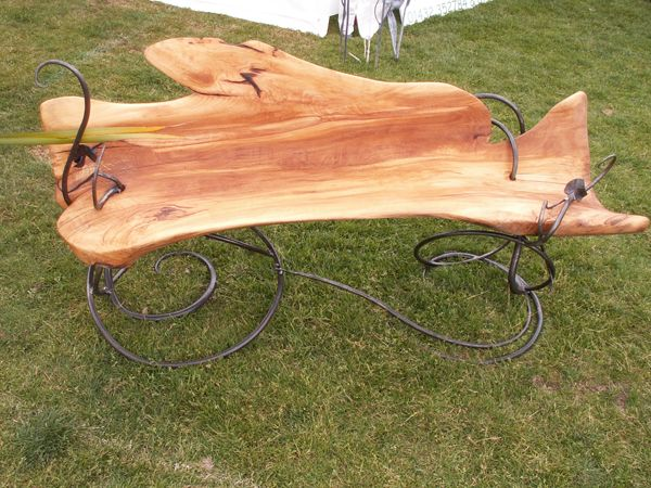 Dragons Wood Forge - Blacksmith and Wood Sculpture, Garden art, metal sculpture, garden sculpture, Neil Lossock