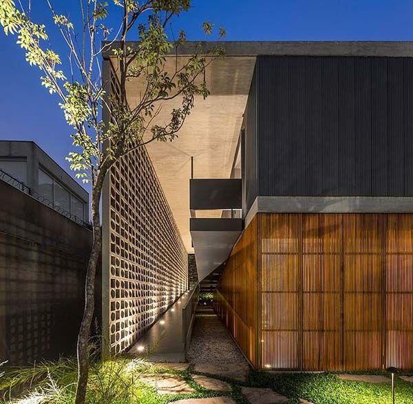 Sensationally designed concrete pad in Brazil by Studio MK27