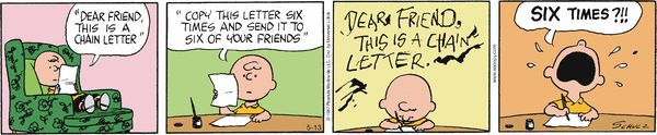 Peanuts Comic Strip, May 13, 2014 on GoComics.com