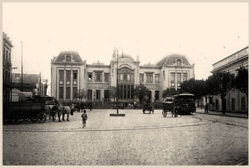 Largo de São Francisco em 1918