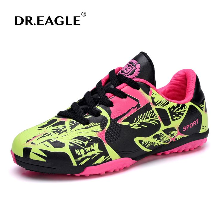 DR.EAGLE Kids Football Shoes for Children Indoor futzalki Shoe Futsal Football Sneakers Soccer Shoes Kids soccer Boots Cleats