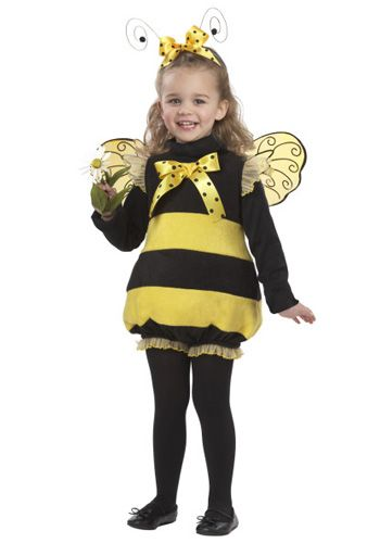 Infant Bizzy Bee Costume - Baby Bumble Bee Costumes
