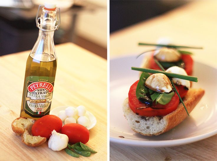 Bocconcini Bruschetta Recipe   http://www.silvericing.com/p159/BLOG/pages.html