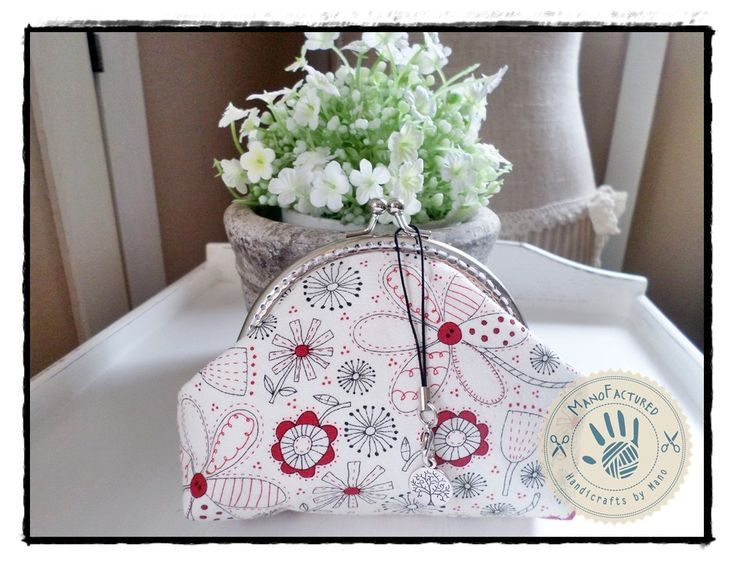 Springtime purse, 13 cm by ManoFactured on Etsy