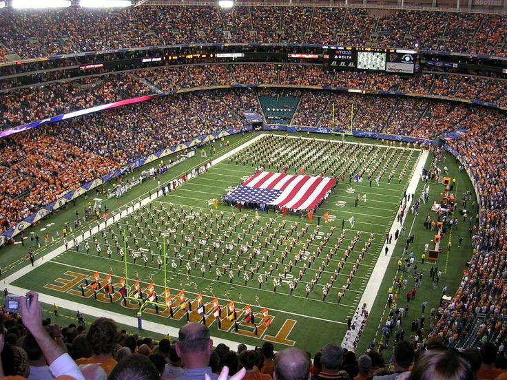 University of Tennessee Pride of the Southland Marching Band @georgia lin. Dome SEC Championship game vs. LSU