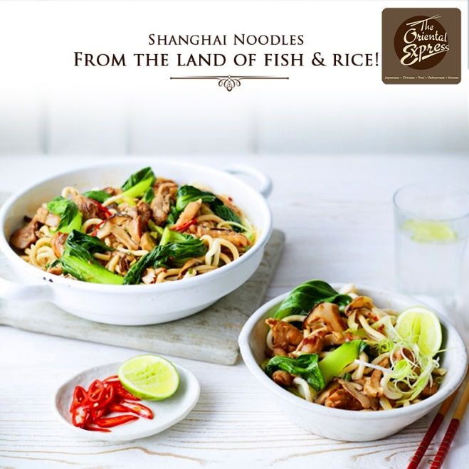 Get a taste of authentic and inviting Shanghai cuisine put together by our in house mavens. #Noodles #OrientalFood #ShanghaiNoodles #TheOrientalExpress #HHIHotels #Kolkata