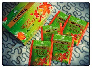 MichelaIsMyName: TWININGS Ginger Bread Green Tea