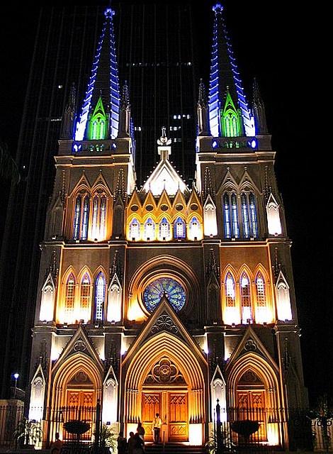 Catedral Presbiteriana (Presbyterian Church), Endereço: Rua Silva Jardim, 23  - Praça Tiradentes – Centro - Rio de Janeiro, Brasil.