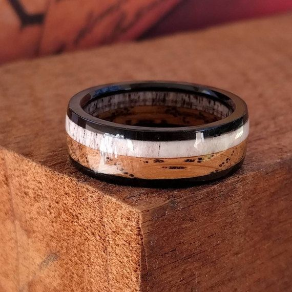 17 Best Ideas About Mens Wooden Wedding Bands On Pinterest