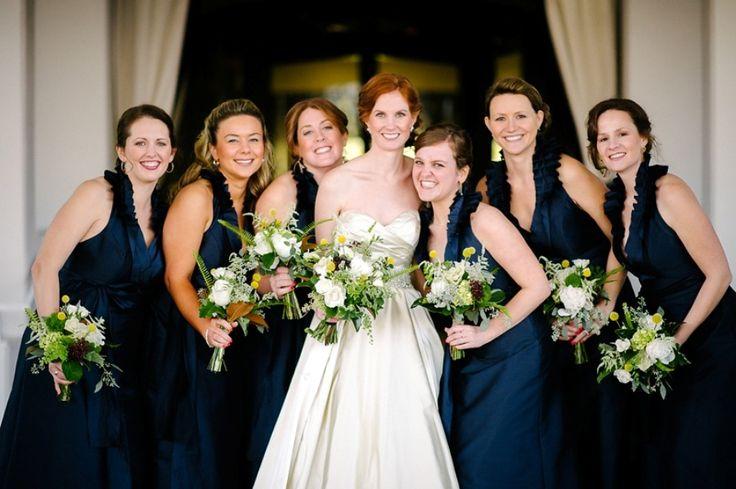 Photography: Julie Livingston Photography - www.julielivingstonphotography.com  Read More: http://www.stylemepretty.com/2014/05/05/traditional-north-carolina-wedding-at-proximity-hotel/
