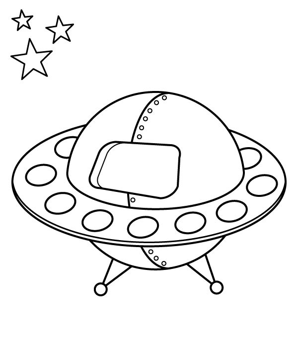 david wiesner coloring pages | Flying Saucer Colouring PagesKidsfreecoloring.Net | Free ...
