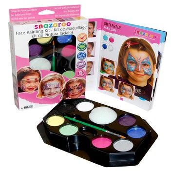 Girl Face Painting Kit by Snazaroo