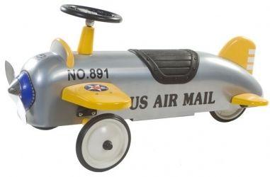 Charles Retro Roller Aeroplane #Loopauto #Speelgoed Retroroller-shop.nl  Hoppashops.nl Hoppa-toys.nl
