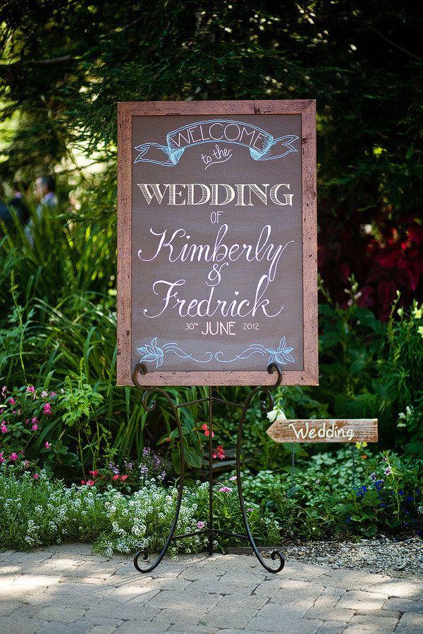 10 Creative Wedding Chalkboard Ideas - Celebrity Style Weddings