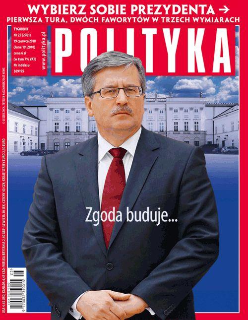Polityka z raportem i okładką trójwymiarową na wybory - Polityka.pl