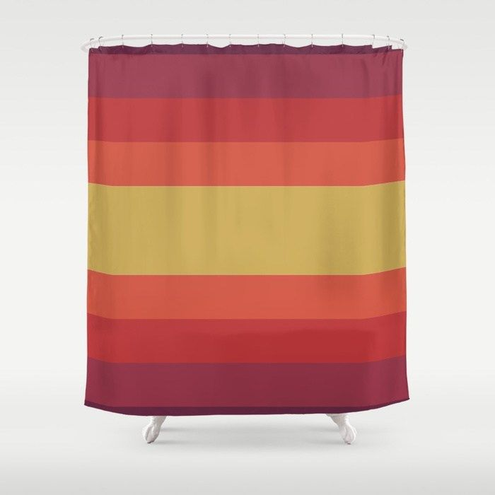 Buy Retro 70 S Shower Curtain By Scardesign 30 Off This Item