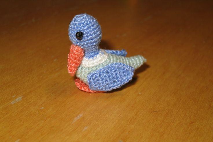 háčkovaná kachna/ crocheted duck
