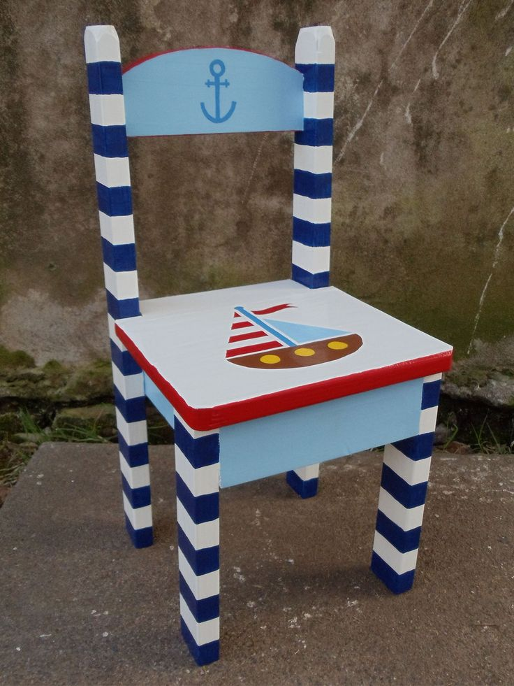 Las 25 mejores ideas sobre sillas pintadas en pinterest - Sillas infantiles ...