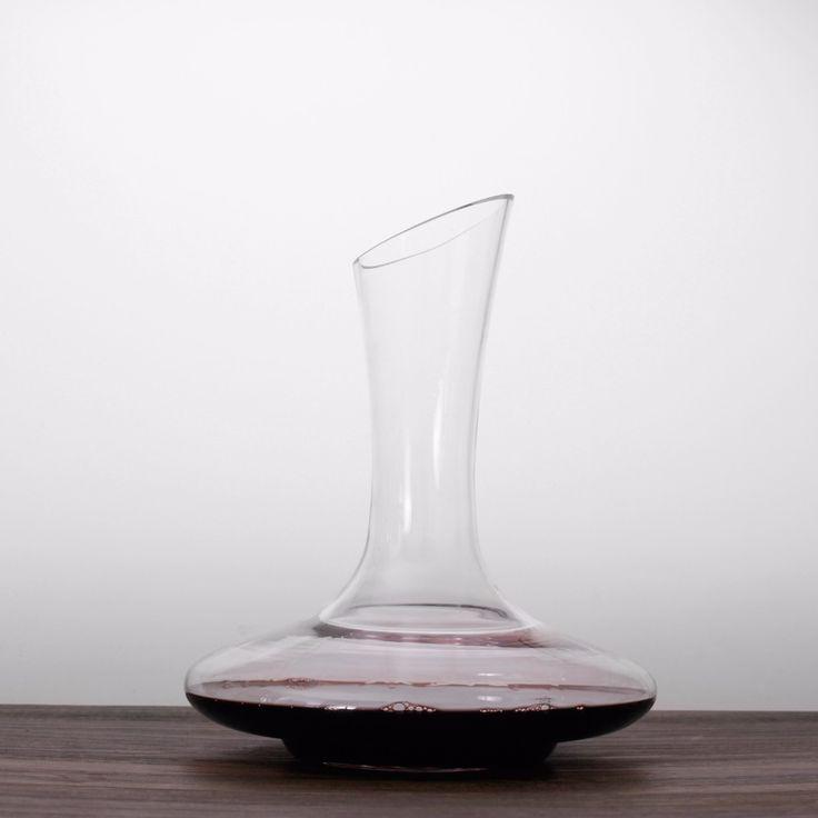 Homestia 1800ml 6oz wine decanter large Lead Free Transparent Crystal  Wine Aerator Liquor Pourer Dispenser Whiskey Jug Bar Set