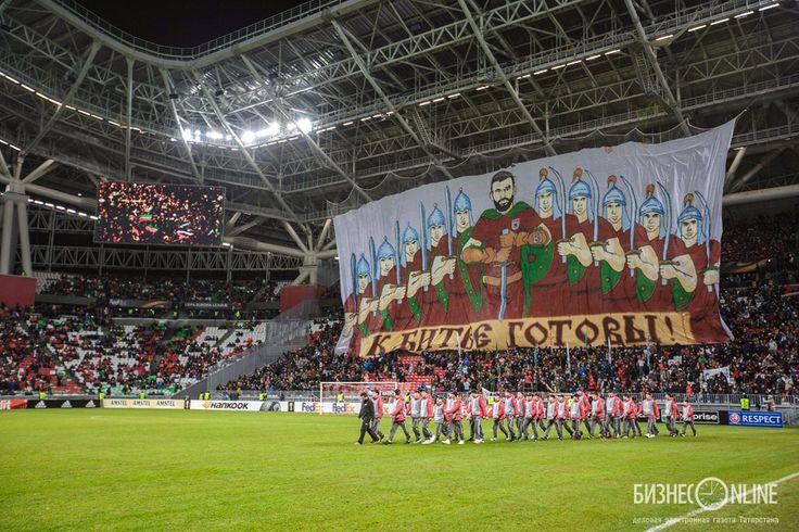 11.05.15. Europe league, Rubin Kazan - FC Liverpool. Home perfomans