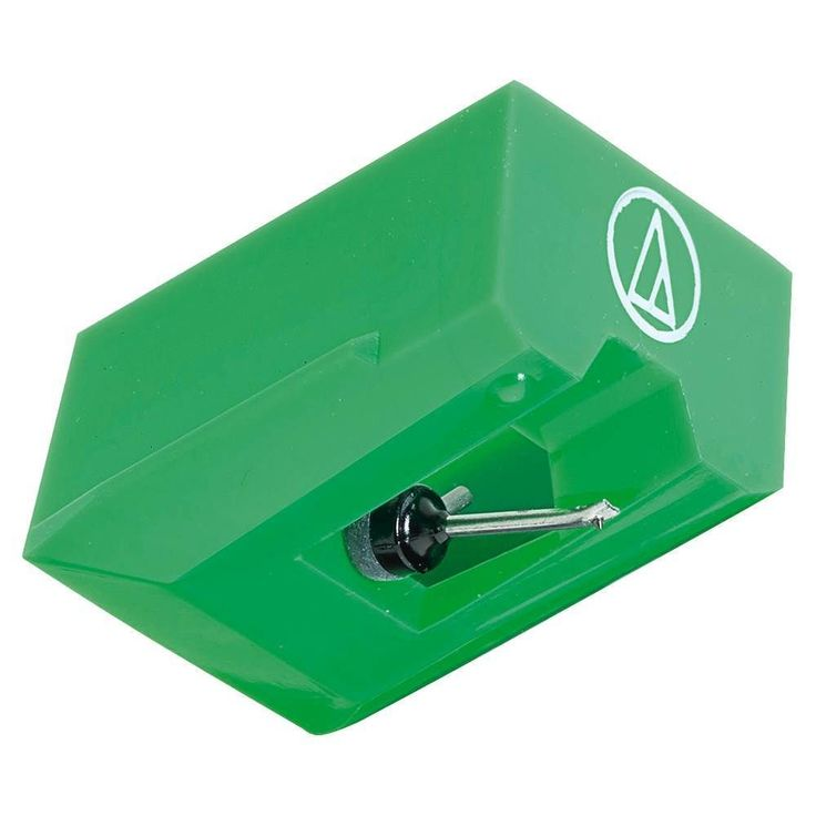 Audio-Technica - Phonograph Replacement Stylus - Green, AUD ATN95E