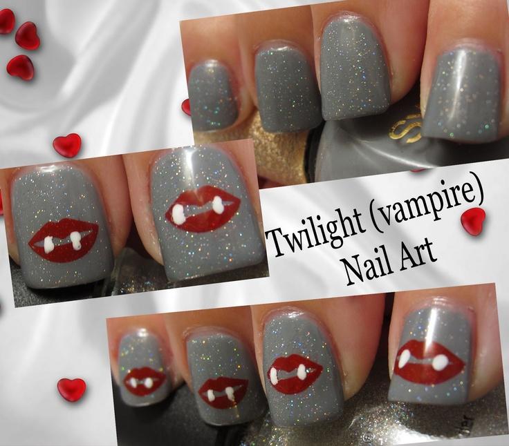 Vampire Nail Polish: 108 Best Images About Novel Nail Art On Pinterest