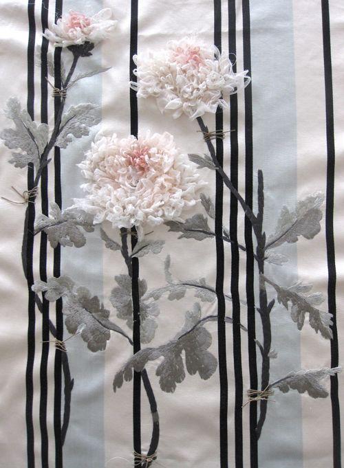 Introducing textile artist, Karen Nicol... | Flowerona