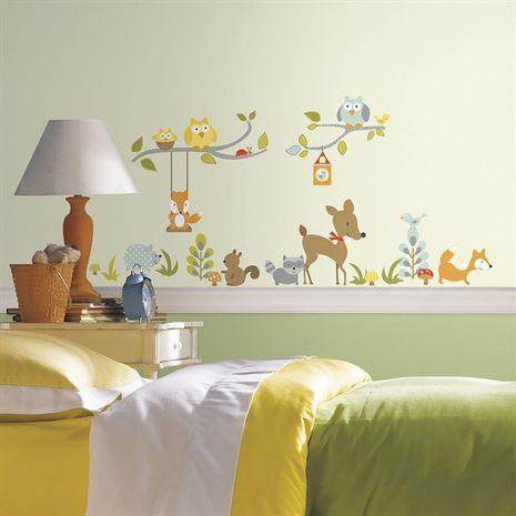 Roommates, väggdekal, woodland vegg  & dørdekorasjoner tapeter ...