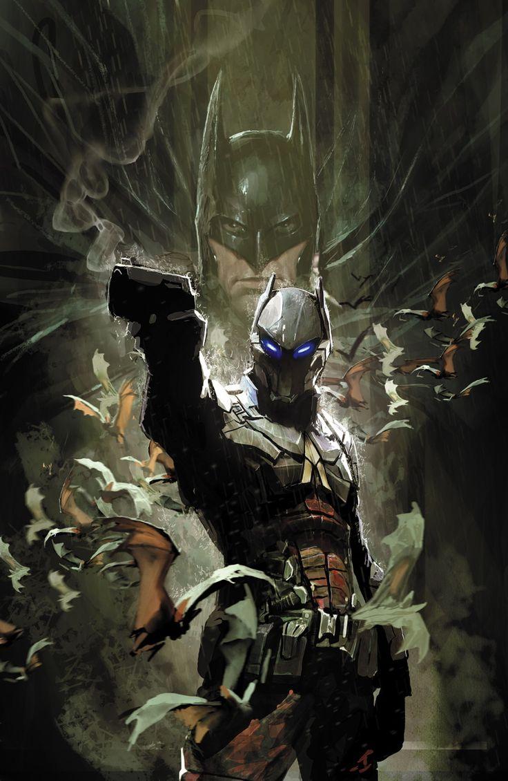 Batman: Arkham Knight – Genesis #1 - Cover by Stjepan Sejic