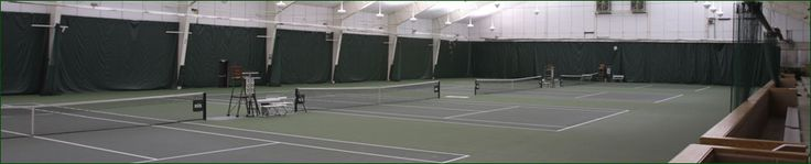 Michigan State Official Athletic Site - Facilities - MSU Indoor Tennis Facility