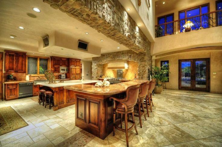 Nice big kitchen! | Kitchens | Pinterest | Nice, Home and ...