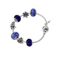 Amore & Baci blue bracelet