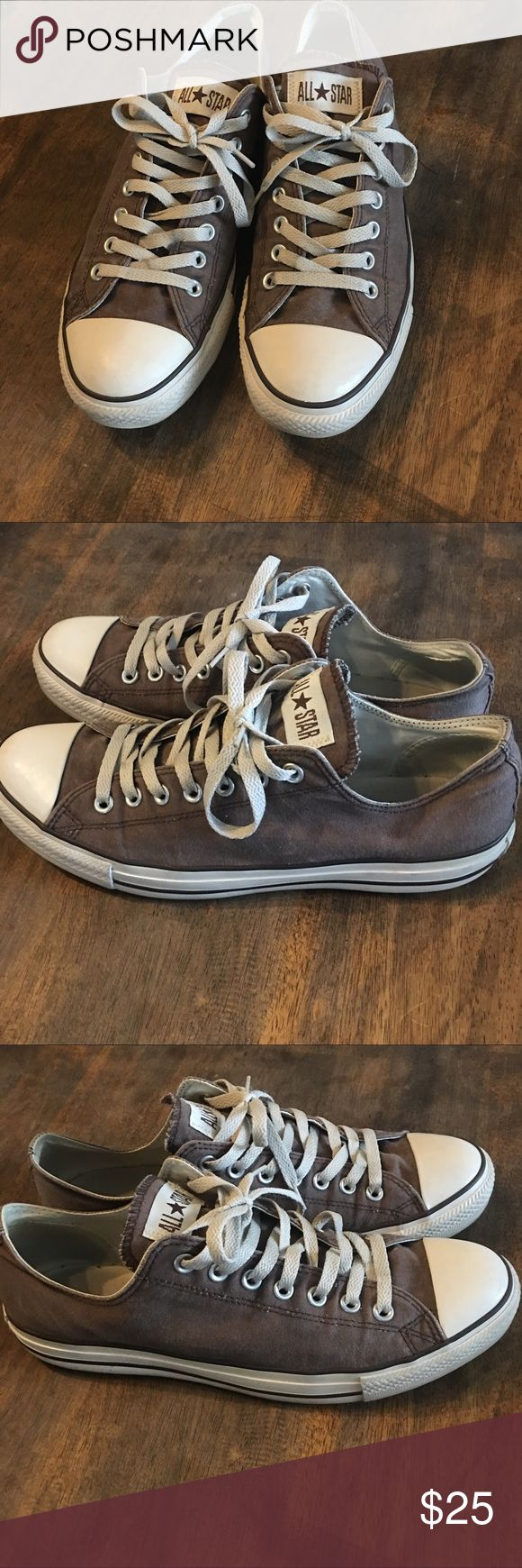 Converse Classics - Faded Brown Oxford Converse Classics - Faded Brown Oxford, the Classics with a little fade just like it was meant to be! These are not new but they very low miles on them. Converse Shoes Sneakers