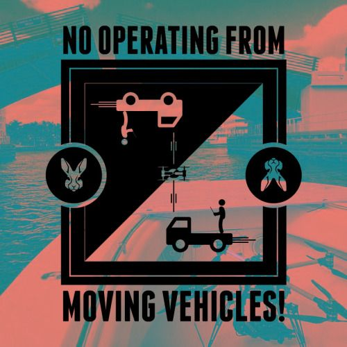 Current regulations say you may under no circumstance operate a drone from moving vehicles - cars, trucks, motorcycles… Not sure about horses… But I do know the regulations regarding boats will change soon! Visit us www.wildrabbitproductions.com  #wildrabbit #wildrabbitaerial #droneoftheday #dronestagram #aerialvideo #aerialphotography #uav #faa #flight #sky #graphicdesign #art #design #color #multirotor #drone #rcheli #rc #cinematography #filmmaking #production #losangeles #safety #PSA