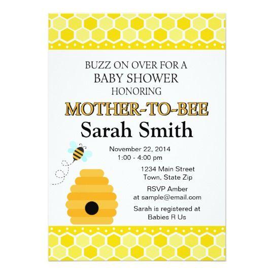 20+ parasta ideaa Pinterestissä Bee invitations Vauvakutsujen - sample email invitation