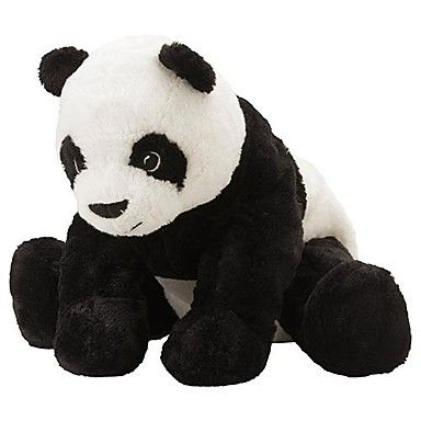 Soft 12 Inch Panda Stuffed Teddy. Only at www.pandadeals.co.uk