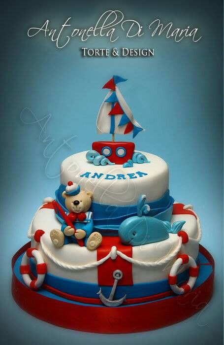 99 best Ship and Fishing boat Cakes 2 images on Pinterest