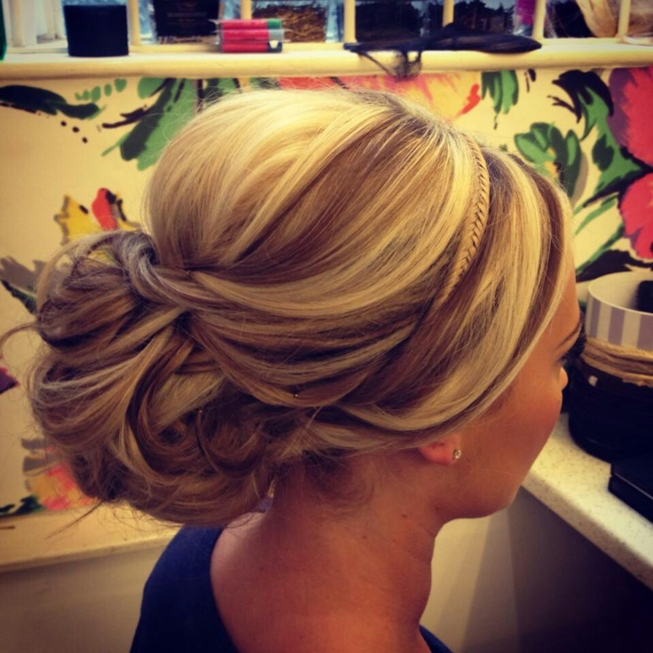 hair up styles images upstyle with braid hair bridesmaid hair 8198