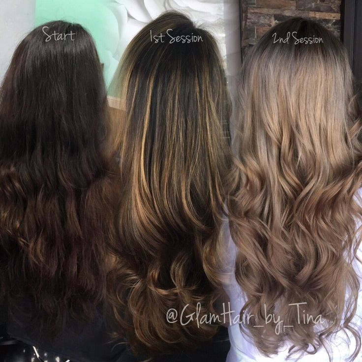 Light Ash Brown Hair With Highlights