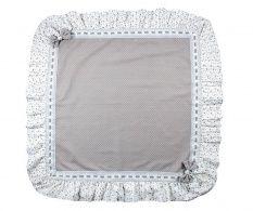 Grey Ribbons Asztalterítő 100x100 cm